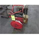 Two Wheel, Nylon Strapping Machine