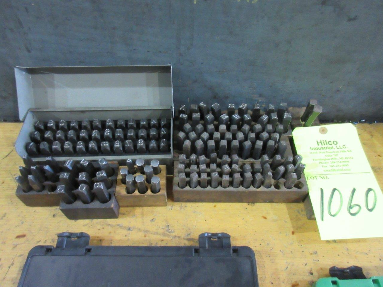 Lot 1060 - Assorted Steel Stamp Hand Tools