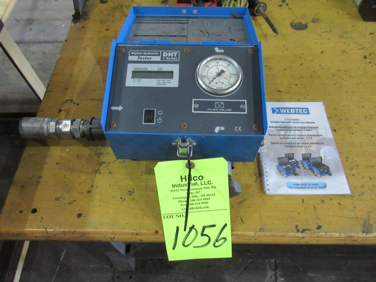 Model DHT 401-S-6 Webtec, Bi-Directional Hydraulic Flow Meter Unit