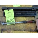"""Norbar Model 200 30 - 150 lbs. Cap. 1/2"""" Click Handle Torque Wrench"""