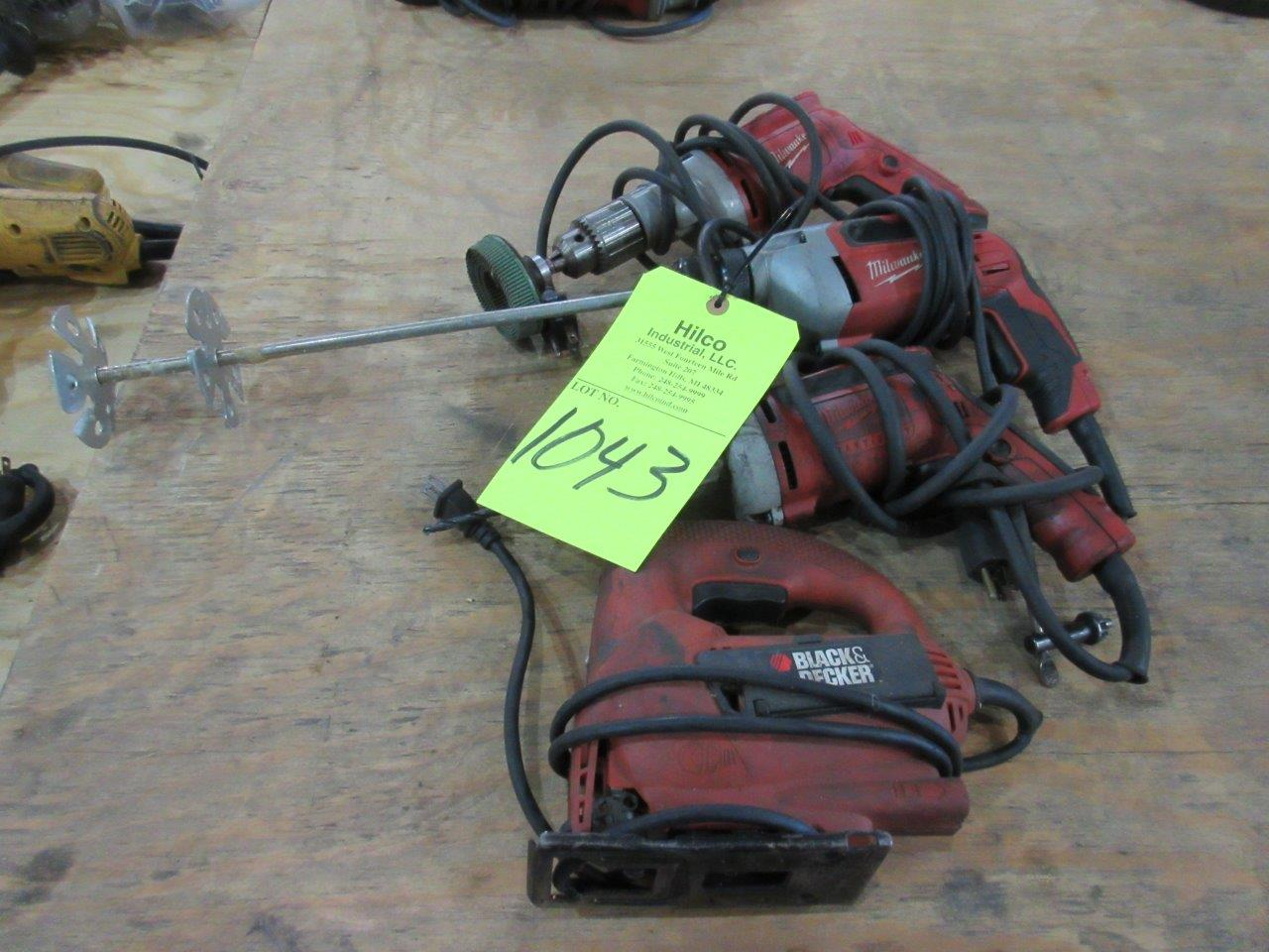 Lot 1043 - Electric Hand Tools