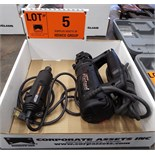 LOT/ DREMEL ELECTRIC ROTARY TOOL AND ROTOZIP ELECTRIC SPIRAL SAW