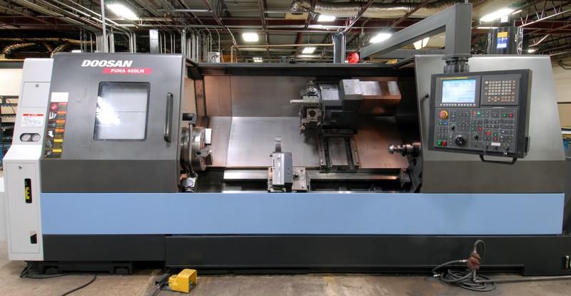 innovatiivinen muotoilu uusin hienoja tarjouksia 2017 DOOSAN (2012) PUMA 400LM CNC TURNING CENTER WITH DOOSAN ...