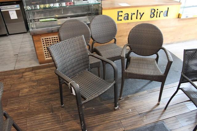 Lot 52 - 4 x polyrattan chairs