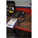 Lot: Pistolets de soudure (2), appareil d'analyse DRB3 et imprimante MIDTRONICS MDX-P300
