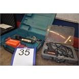 Lot: Welder gun/Fusil à souder & Dial indicator MITUTOYO