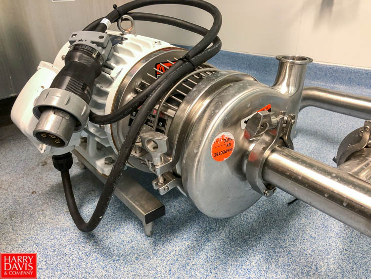Centrifugal Pump with 3 HP 3,495 RPM Motor - Image 2 of 3