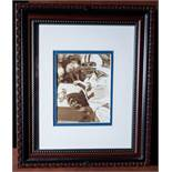 """Roger Staubach Wood Framed Photo, 12""""x10"""""""