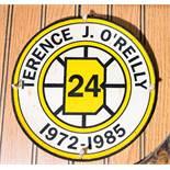 "Terrence J O'Reilly, HOF Memento Patch, 8"""