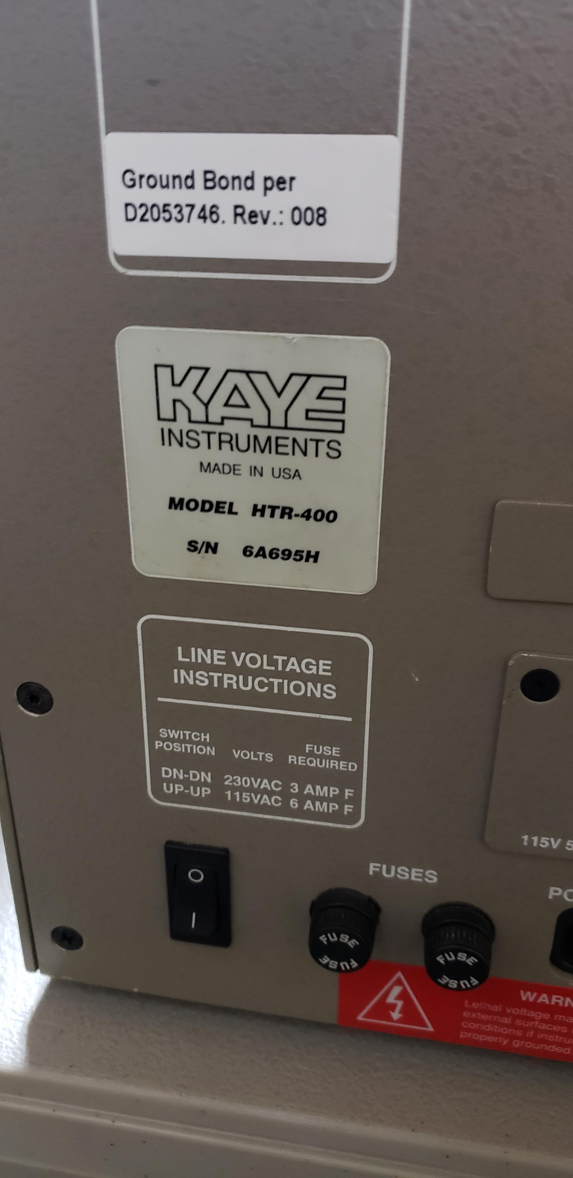 Lot 39 - Kaye Dry Block Calibrator - For Extended High Temperature Ranges