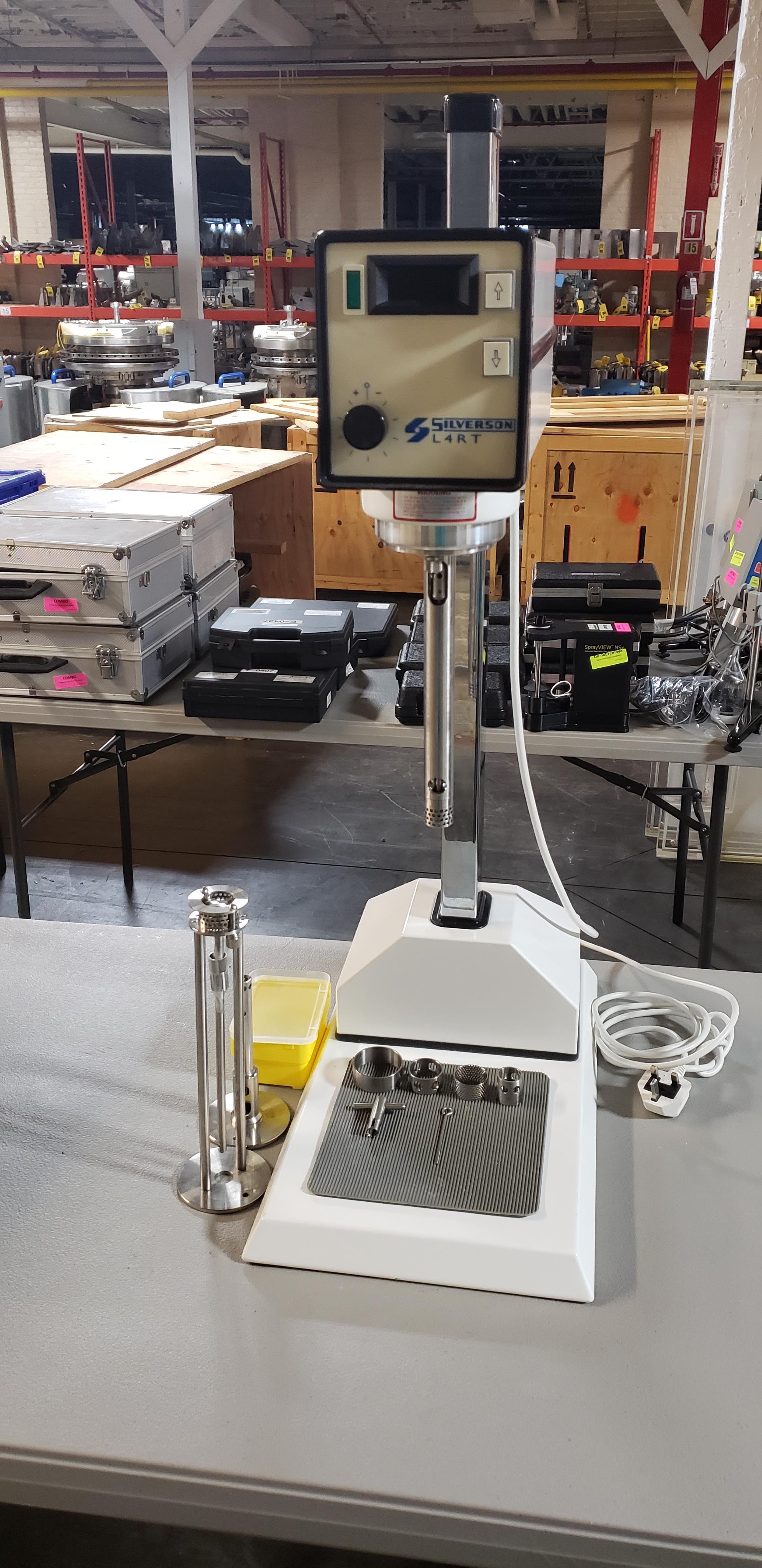 Lot 35 - Silverson Heavy duty Mixer Emulsifier