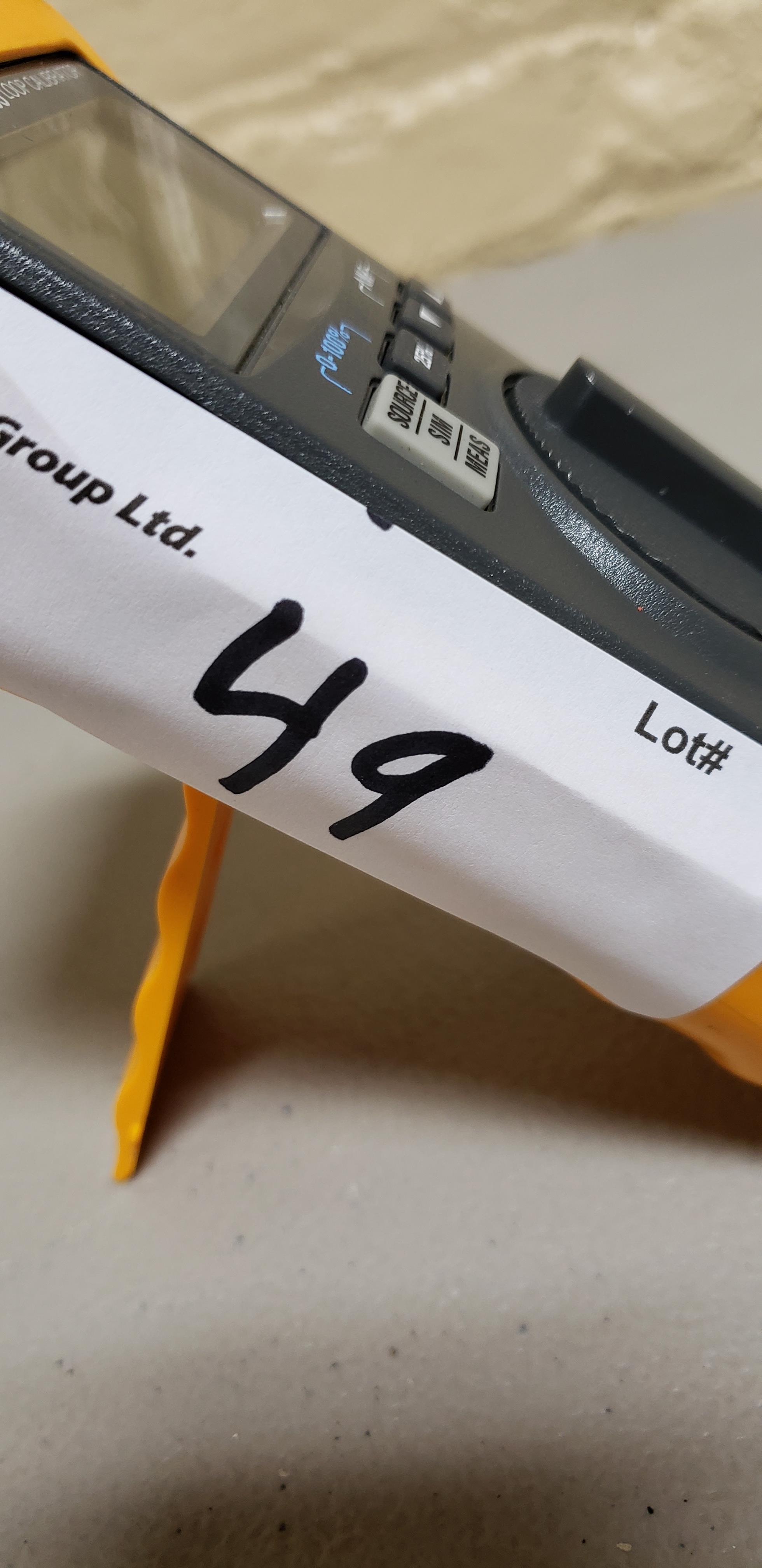 Lot 49 - Fluke 709 Precision Loop Calibrator