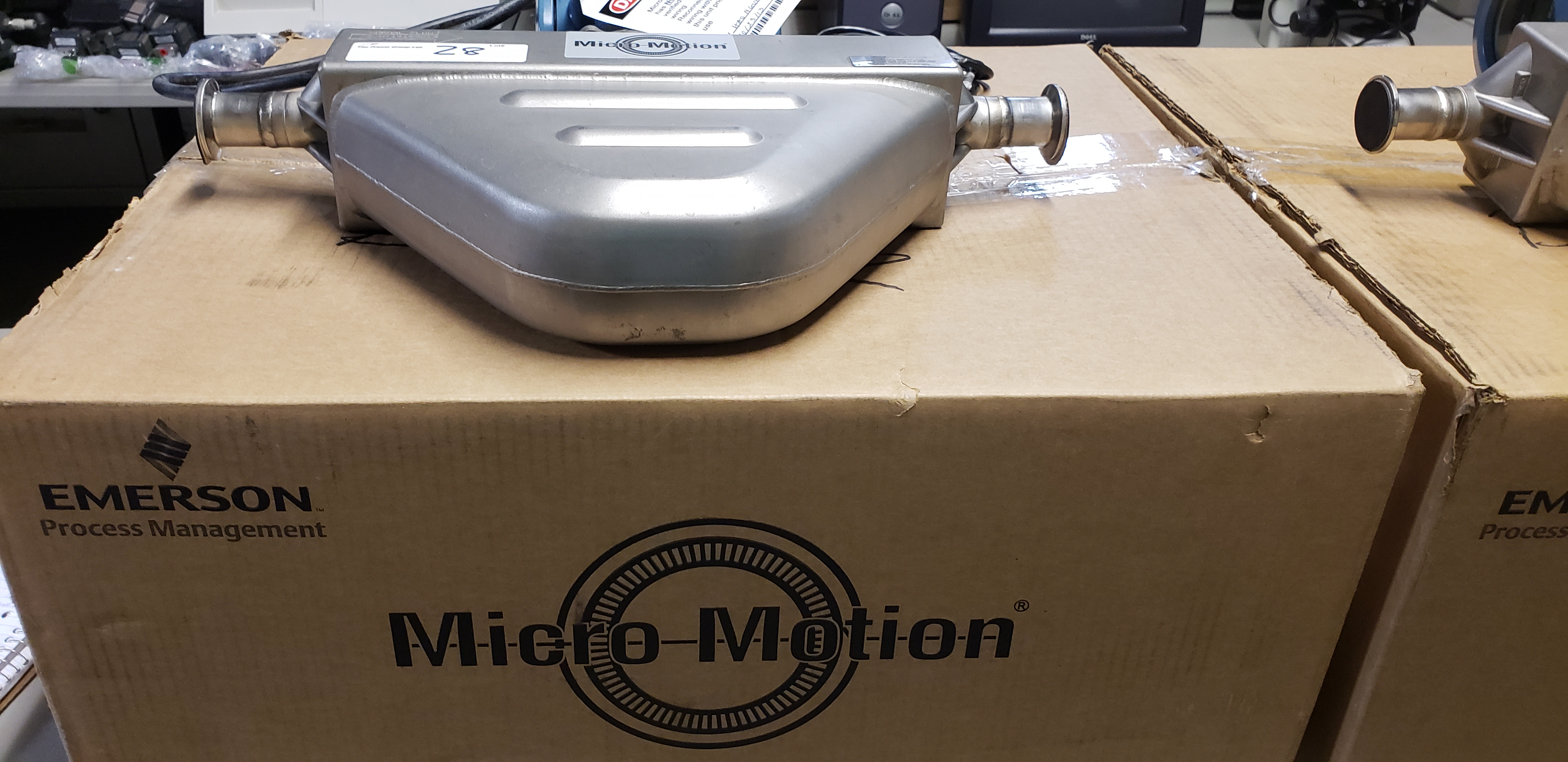 Lot 28 - Micro Motion Flow Meter w/ Sensor