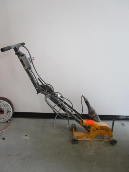 Lot 7 - US Saw Crack Chaser w/ 4.5HP Metabo Saw