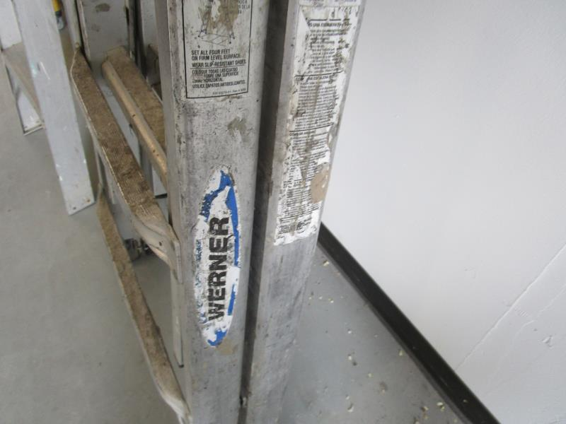 Lot 27 - Werner 300LBs Folding Ladder