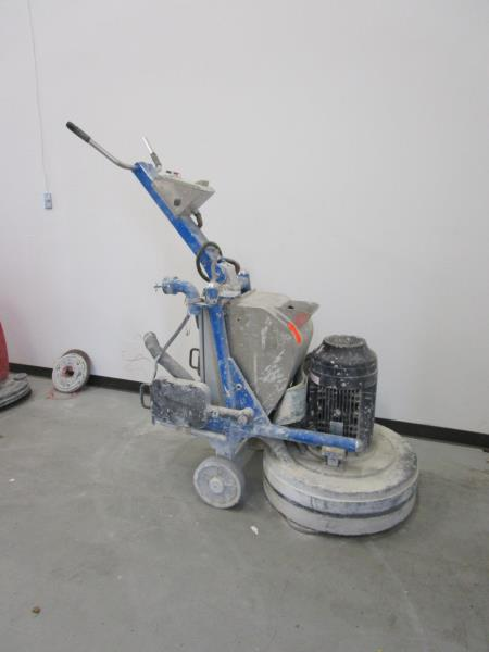 Lot 6 - Preptech Grinder w/ Wonder Motor, Model: WEA/160L-4