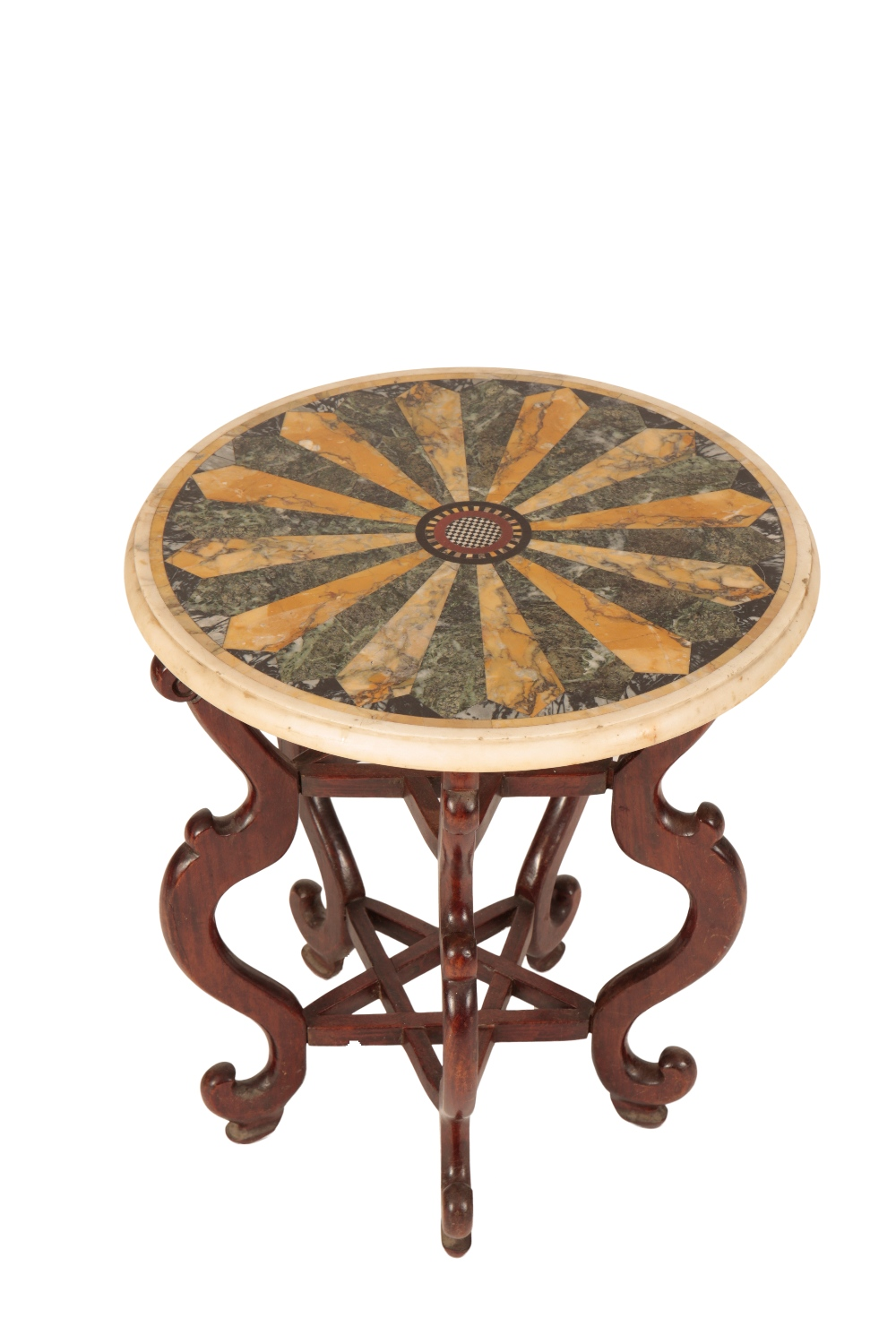 Lot 367 - HARDWOOD OCCASIONAL TABLE