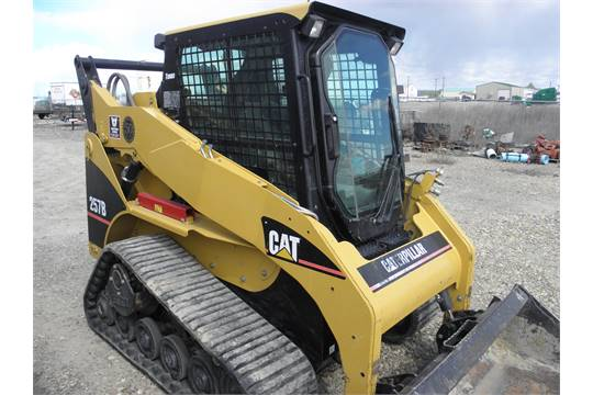 Caterpillar 257 B Turbo Track Skid steer w/hyd quick connect