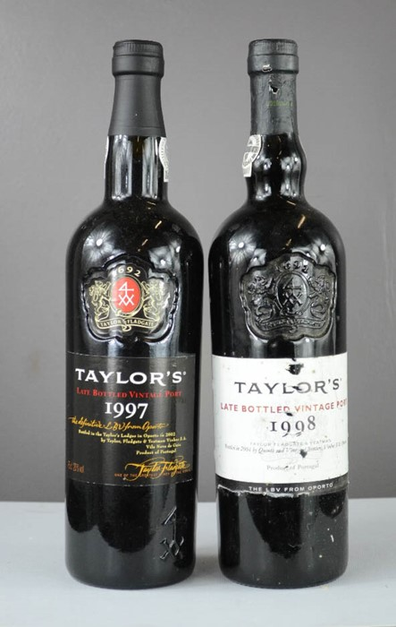 Lot 8 - Taylors Port, two bottles; 1998 and 1997 Late Bottled Vintage.