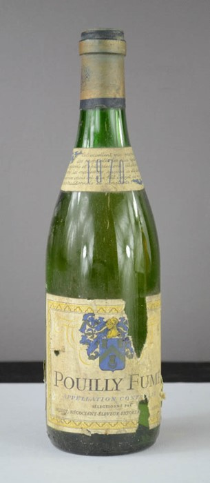 Lot 25 - Pouilly Fume, 1970 Apellation Controlle.