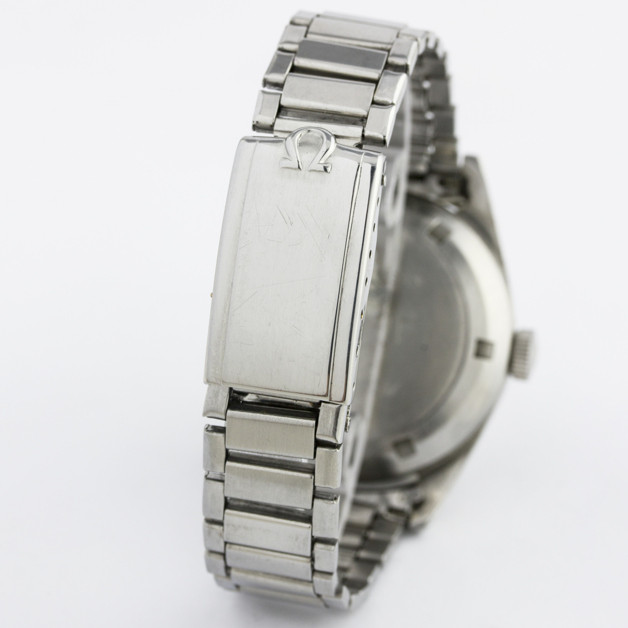 Lot 267 - A RARE GENTLEMAN'S STAINLESS STEEL OMEGA SEAMASTER P.A.F. BRACELET WATCH DATED 1964, REF. ST 135.004