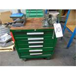 Kennedy 6-Drawer Tool Box w/ Vise & Contents