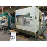 (2001) Deckel Maho mod. DMU80P, Hi-Dym, 5-Axis CNC Horizontal Machine Center w/ Knuckle Joint
