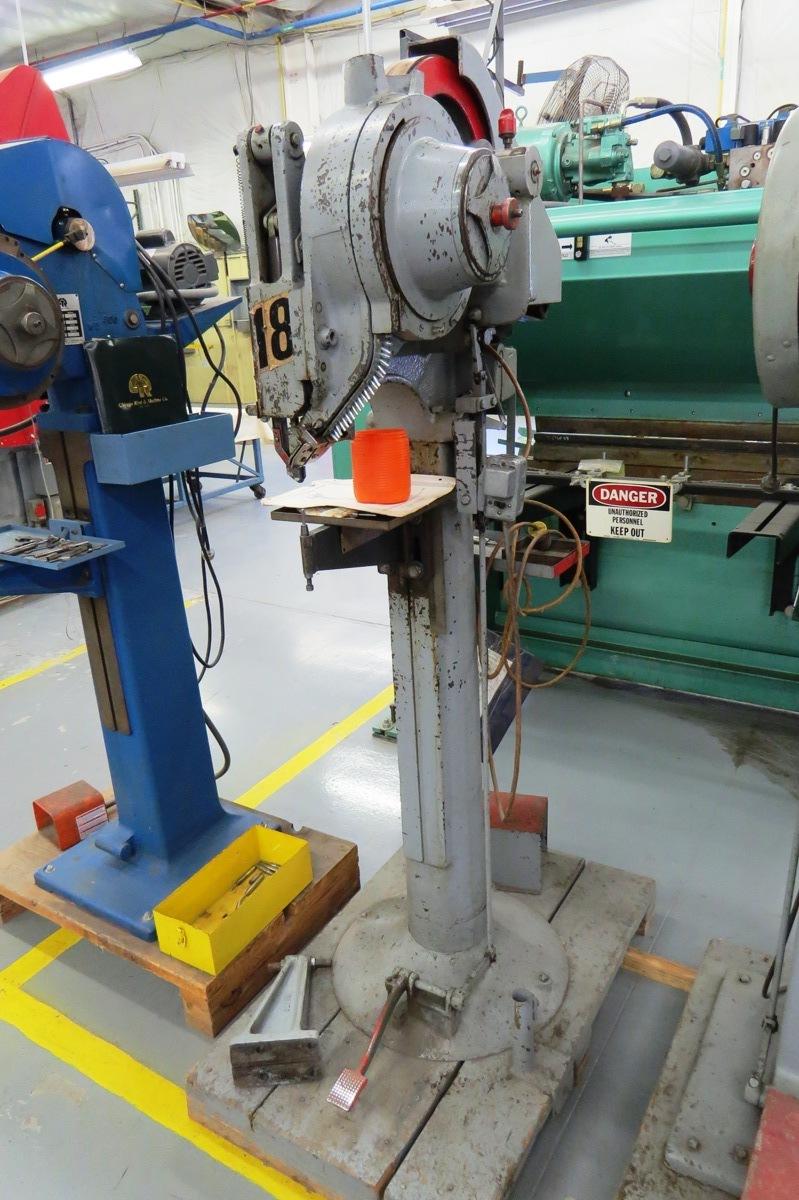 Rivet Machine Anvils : Choice of lots chicago rivet machine company
