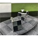 Louis Vuitton Sterling Silver .925 Cufflinks/Original Case