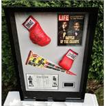 "Muhammad Ali & Joe Frazier Signed Life Magazine ""Fight of The Century"" Montage"