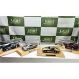 Aston Martin DB5`s 1:24 Scale Complete Collection of Danbury Mint