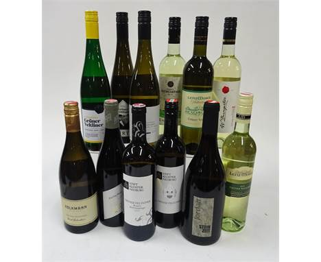 Austrian Gruner Veltliner White Wine: Kolkmann 2017; Pfaffl (Riesling) Reserve 2019; SKN Reserve 2018; SKN 2019; Stein Zeit R