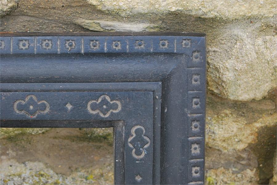 Lot 27 - Hearth surround - cast metal.