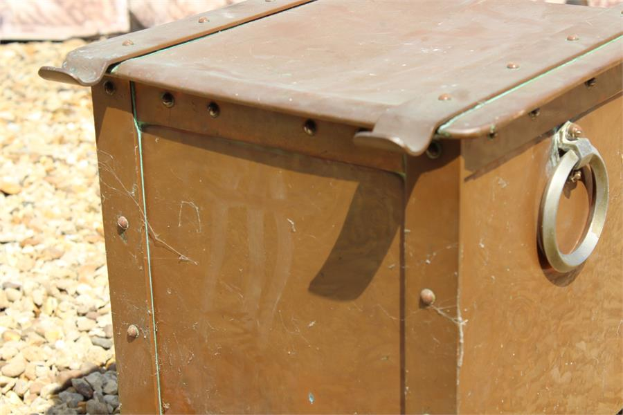 Lot 16 - Copper Coal / Log Bin