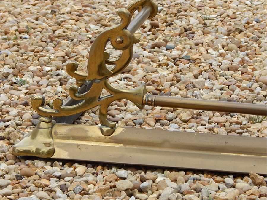 Lot 46 - Brass Fender