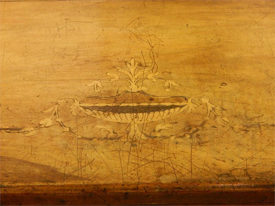 Lot 60 - Victorian Inlaid Walnut Music Cabinet