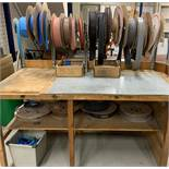 Quantity of Heatshrink & Custom Fitted Holder (Located Norwich – See General Notes for Viewing &