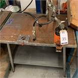 SML Workbench & Unbranded Hole Punch (Located Norwich – See General Notes for Viewing & Collection