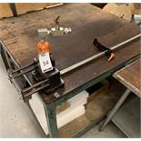 DIN Profile Cutting & Punching Tool & Workbench (Located Norwich – See General Notes for Viewing &
