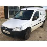 Vauxhall Combo van, registration number LO59 VXE, first registered 27th January 2010 with