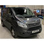 Ford Transit Custom 270 L1 low roof panel van, registration number AP15 WSW, first registered 18th