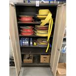 Two Door Cabinet with Assorted Quantity Heatshrink (Located Norwich – See General Notes for