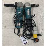 Makita JN1601 Nibbler & Makita Grinder (Located Norwich – See General Notes for Viewing & Collection
