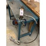 Metal Workbench with Integral Hole Punch (Located Norwich – See General Notes for Viewing &