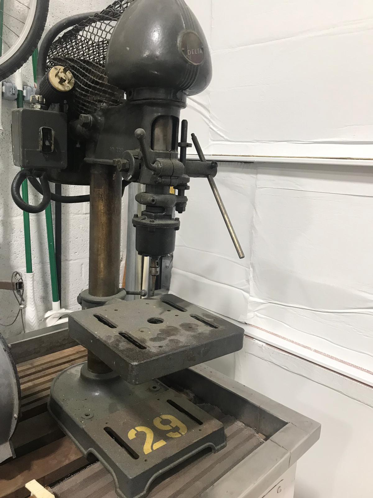 """DELTA Drill Press 10"""" x 20"""" x 36"""" H - Image 3 of 3"""