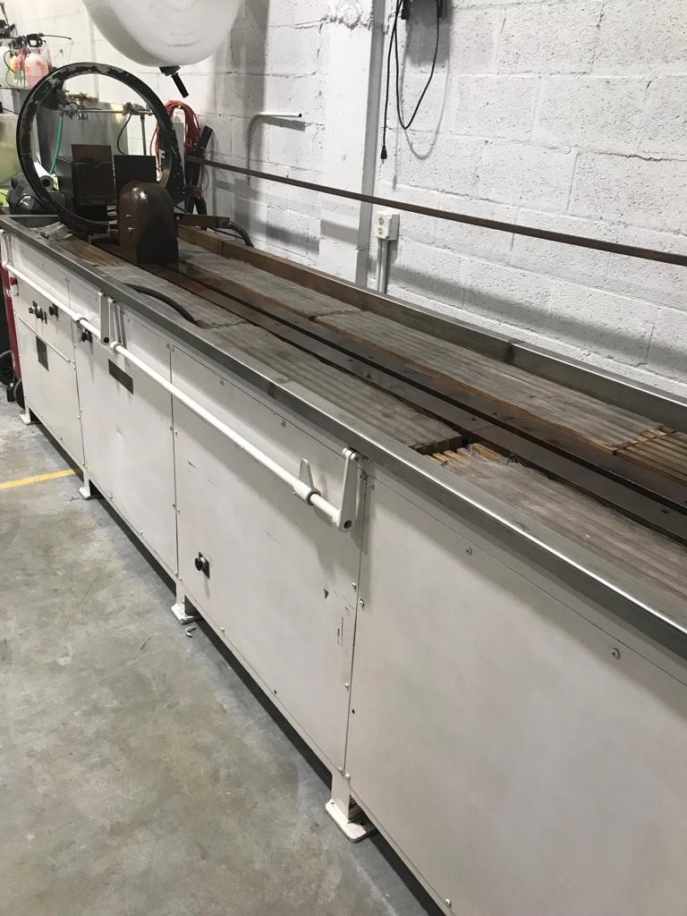 "Lot 1 - MT TECH GRANIER Magnetic Particle wet Bench # 10100, Functional & assembled - 170.5"" x32.5"" x 42""H"