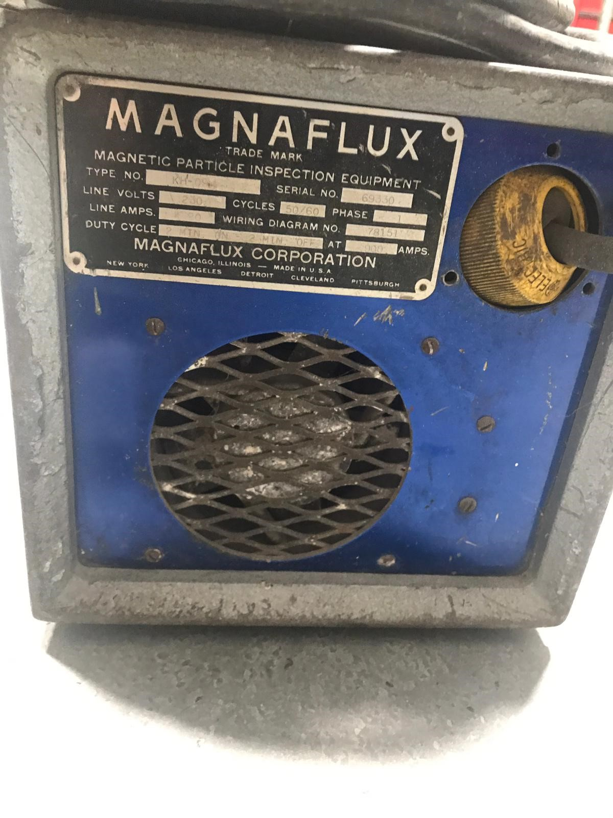 MAGNAFLUX Magnetic Particle inspection Equipment