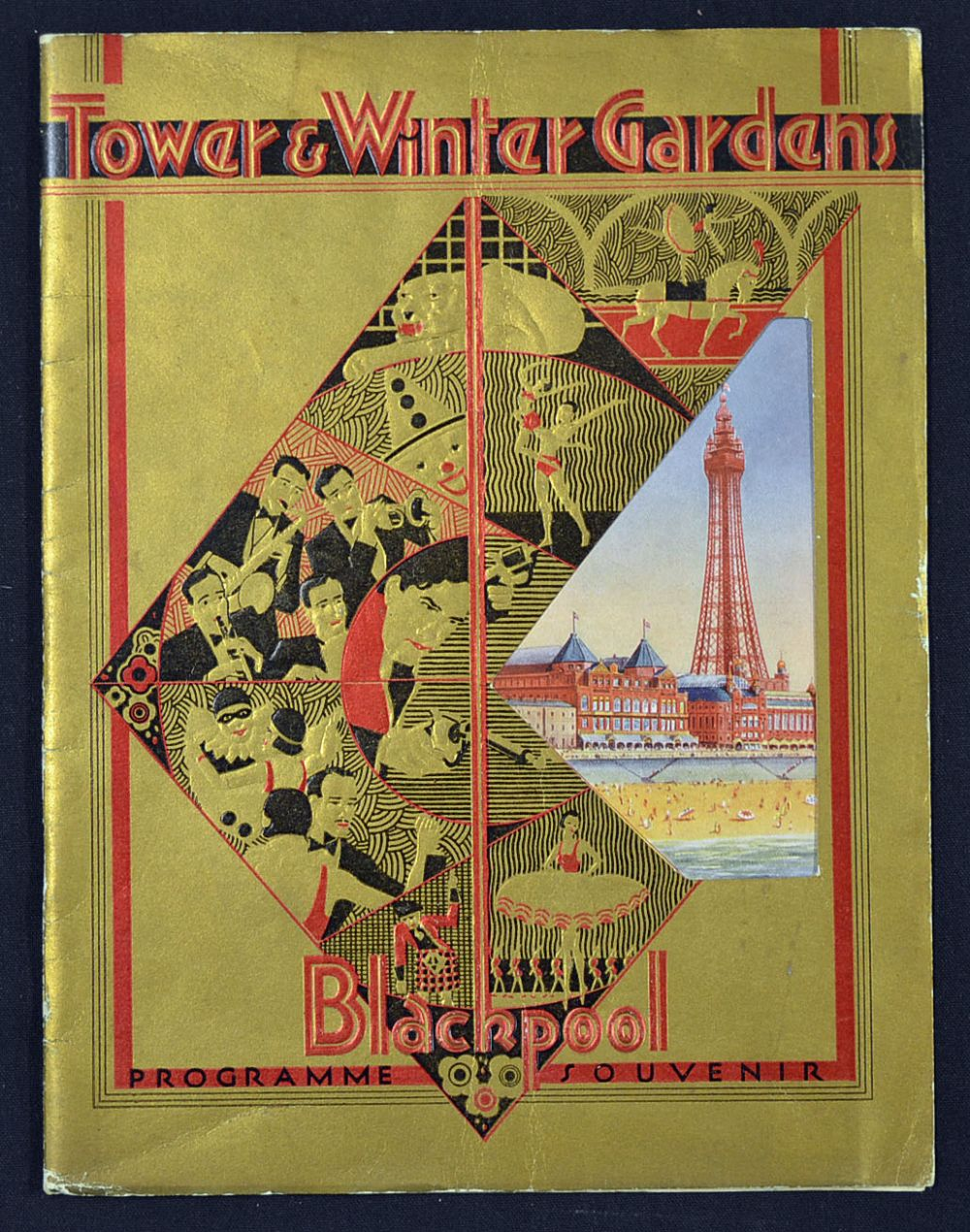 entertainment blackpool tower u0026 winter gardens souvenir programme