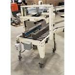 POWER PACKAGING & EQUIPMENT Top & Bottom Case Sealing Model #P107S 110V Manufacted 2004 Side Belt