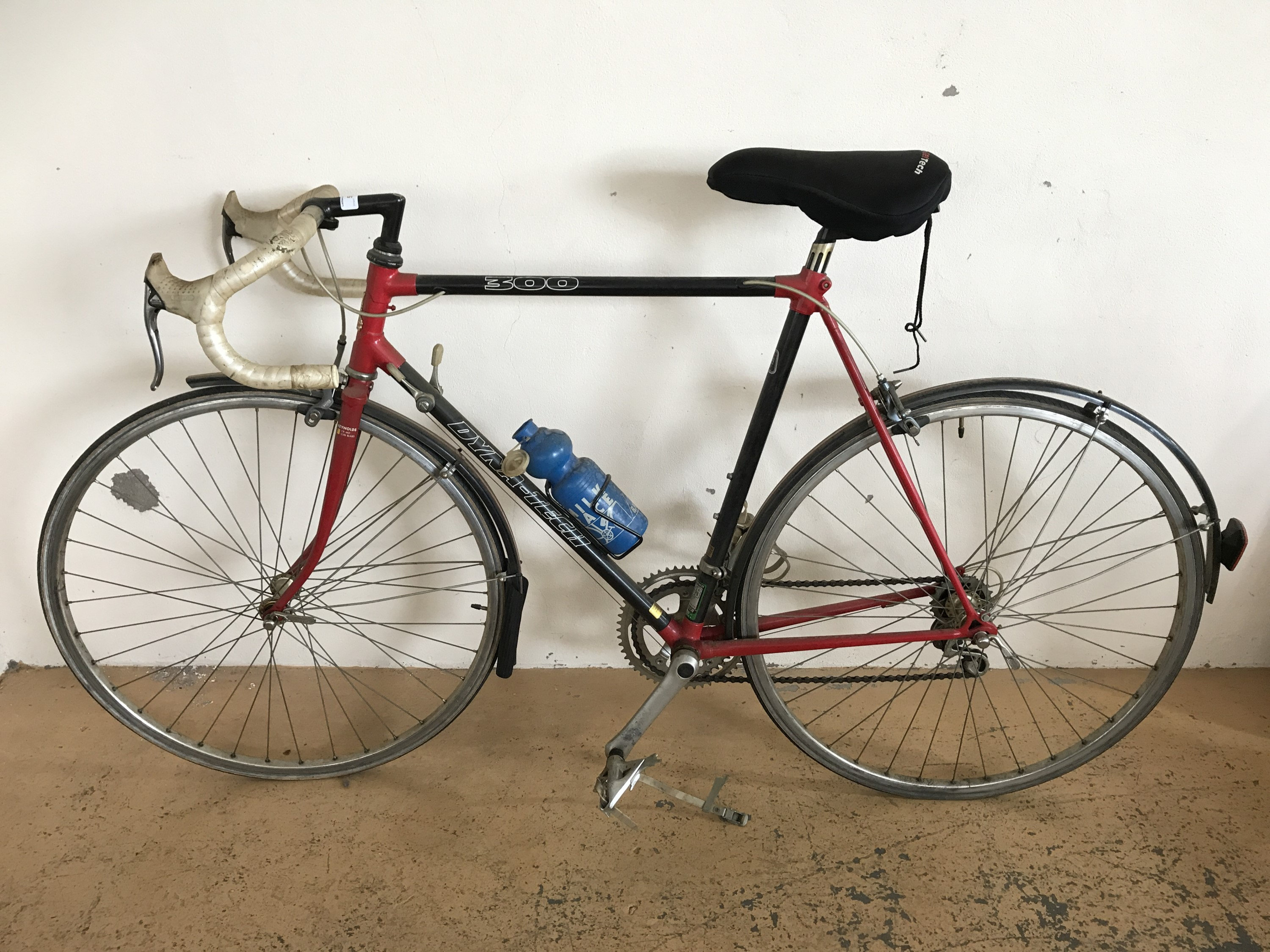 Lot 59 - A Raleigh Special Products Division Dyna-Tech 300 racer bicycle, circa 1970s-1980s